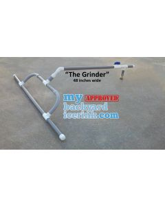 ICE RESURFACER - THE GRINDER - FOR BACKYARD RINK AND POND RINK - 48 INCHES WIDE !