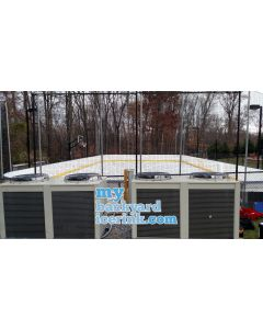 my backyard ice rink portable refrigerated ice hockey rink chillers