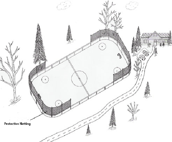 my backyard ice rink